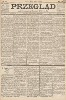 Przegląd polityczny, społeczny i literacki. 1888, nr273