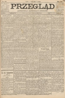 Przegląd polityczny, społeczny i literacki. 1888, nr280