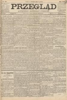 Przegląd polityczny, społeczny i literacki. 1888, nr281
