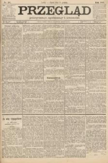 Przegląd polityczny, społeczny i literacki. 1888, nr287