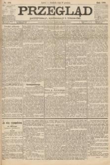Przegląd polityczny, społeczny i literacki. 1888, nr289