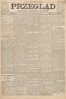 Przegląd polityczny, społeczny i literacki. 1888, nr299