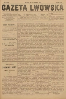 Gazeta Lwowska. 1913, nr222