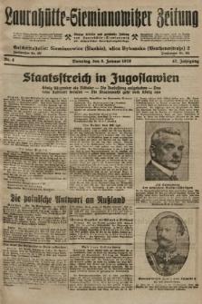 Laurahütte-Siemianowitzer Zeitung : enzige älteste und gelesenste Zeitung von Laurahütte-Siemianowitz mit wöchentlicher Unterhaitungsbeilage. 1929, nr4