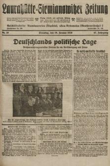 Laurahütte-Siemianowitzer Zeitung : enzige älteste und gelesenste Zeitung von Laurahütte-Siemianowitz mit wöchentlicher Unterhaitungsbeilage. 1929, nr16