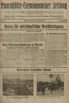 Laurahütte-Siemianowitzer Zeitung : enzige älteste und gelesenste Zeitung von Laurahütte-Siemianowitz mit wöchentlicher Unterhaitungsbeilage. 1929, nr25