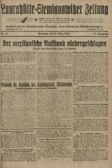 Laurahütte-Siemianowitzer Zeitung : enzige älteste und gelesenste Zeitung von Laurahütte-Siemianowitz mit wöchentlicher Unterhaitungsbeilage. 1929, nr41