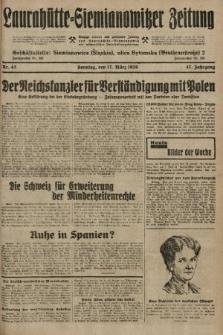 Laurahütte-Siemianowitzer Zeitung : enzige älteste und gelesenste Zeitung von Laurahütte-Siemianowitz mit wöchentlicher Unterhaitungsbeilage. 1929, nr43