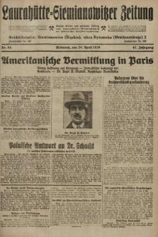 Laurahütte-Siemianowitzer Zeitung : enzige älteste und gelesenste Zeitung von Laurahütte-Siemianowitz mit wöchentlicher Unterhaitungsbeilage. 1929, nr64