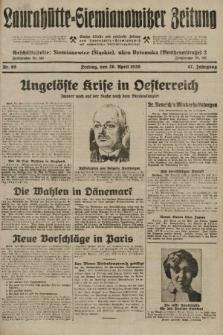 Laurahütte-Siemianowitzer Zeitung : enzige älteste und gelesenste Zeitung von Laurahütte-Siemianowitz mit wöchentlicher Unterhaitungsbeilage. 1929, nr65