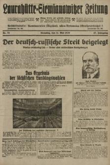 Laurahütte-Siemianowitzer Zeitung : enzige älteste und gelesenste Zeitung von Laurahütte-Siemianowitz mit wöchentlicher Unterhaitungsbeilage. 1929, nr75