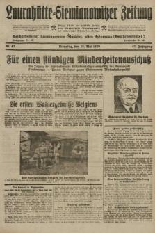 Laurahütte-Siemianowitzer Zeitung : enzige älteste und gelesenste Zeitung von Laurahütte-Siemianowitz mit wöchentlicher Unterhaitungsbeilage. 1929, nr82