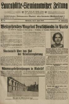 Laurahütte-Siemianowitzer Zeitung : enzige älteste und gelesenste Zeitung von Laurahütte-Siemianowitz mit wöchentlicher Unterhaitungsbeilage. 1929, nr87