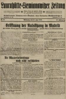 Laurahütte-Siemianowitzer Zeitung : enzige älteste und gelesenste Zeitung von Laurahütte-Siemianowitz mit wöchentlicher Unterhaitungsbeilage. 1929, nr91