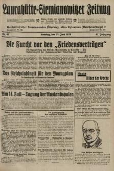 Laurahütte-Siemianowitzer Zeitung : enzige älteste und gelesenste Zeitung von Laurahütte-Siemianowitz mit wöchentlicher Unterhaitungsbeilage. 1929, nr97