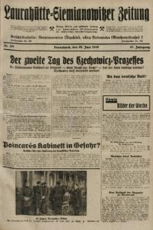 Laurahütte-Siemianowitzer Zeitung : enzige älteste und gelesenste Zeitung von Laurahütte-Siemianowitz mit wöchentlicher Unterhaitungsbeilage. 1929, nr101