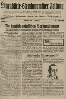 Laurahütte-Siemianowitzer Zeitung : enzige älteste und gelesenste Zeitung von Laurahütte-Siemianowitz mit wöchentlicher Unterhaitungsbeilage. 1929, nr105