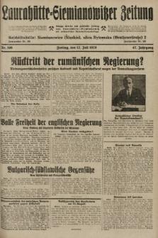 Laurahütte-Siemianowitzer Zeitung : enzige älteste und gelesenste Zeitung von Laurahütte-Siemianowitz mit wöchentlicher Unterhaitungsbeilage. 1929, nr108