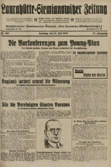 Laurahütte-Siemianowitzer Zeitung : enzige älteste und gelesenste Zeitung von Laurahütte-Siemianowitz mit wöchentlicher Unterhaitungsbeilage. 1929, nr109
