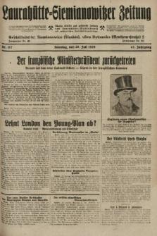 Laurahütte-Siemianowitzer Zeitung : enzige älteste und gelesenste Zeitung von Laurahütte-Siemianowitz mit wöchentlicher Unterhaitungsbeilage. 1929, nr117