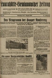 Laurahütte-Siemianowitzer Zeitung : enzige älteste und gelesenste Zeitung von Laurahütte-Siemianowitz mit wöchentlicher Unterhaitungsbeilage. 1929, nr122