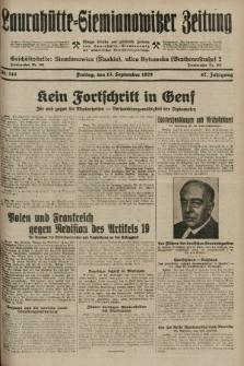 Laurahütte-Siemianowitzer Zeitung : enzige älteste und gelesenste Zeitung von Laurahütte-Siemianowitz mit wöchentlicher Unterhaitungsbeilage. 1929, nr144