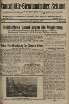 Laurahütte-Siemianowitzer Zeitung : enzige älteste und gelesenste Zeitung von Laurahütte-Siemianowitz mit wöchentlicher Unterhaitungsbeilage. 1929, nr146
