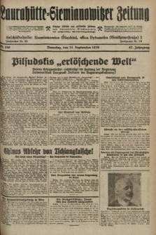 Laurahütte-Siemianowitzer Zeitung : enzige älteste und gelesenste Zeitung von Laurahütte-Siemianowitz mit wöchentlicher Unterhaitungsbeilage. 1929, nr150