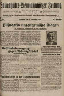 Laurahütte-Siemianowitzer Zeitung : enzige älteste und gelesenste Zeitung von Laurahütte-Siemianowitz mit wöchentlicher Unterhaitungsbeilage. 1929, nr151
