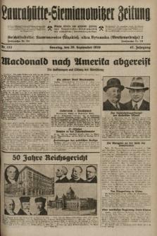 Laurahütte-Siemianowitzer Zeitung : enzige älteste und gelesenste Zeitung von Laurahütte-Siemianowitz mit wöchentlicher Unterhaitungsbeilage. 1929, nr153