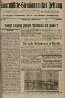 Laurahütte-Siemianowitzer Zeitung : enzige älteste und gelesenste Zeitung von Laurahütte-Siemianowitz mit wöchentlicher Unterhaitungsbeilage. 1929, nr158