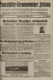 Laurahütte-Siemianowitzer Zeitung : enzige älteste und gelesenste Zeitung von Laurahütte-Siemianowitz mit wöchentlicher Unterhaitungsbeilage. 1929, nr160