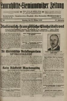 Laurahütte-Siemianowitzer Zeitung : enzige älteste und gelesenste Zeitung von Laurahütte-Siemianowitz mit wöchentlicher Unterhaitungsbeilage. 1929, nr165