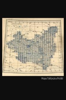 Mapa taktyczna Polski : skorowidz