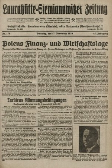 Laurahütte-Siemianowitzer Zeitung : enzige älteste und gelesenste Zeitung von Laurahütte-Siemianowitz mit wöchentlicher Unterhaitungsbeilage. 1929, nr178