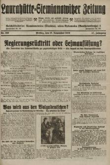Laurahütte-Siemianowitzer Zeitung : enzige älteste und gelesenste Zeitung von Laurahütte-Siemianowitz mit wöchentlicher Unterhaitungsbeilage. 1929, nr180