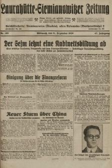 Laurahütte-Siemianowitzer Zeitung : enzige älteste und gelesenste Zeitung von Laurahütte-Siemianowitz mit wöchentlicher Unterhaitungsbeilage. 1929, nr195