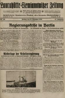 Laurahütte-Siemianowitzer Zeitung : enzige älteste und gelesenste Zeitung von Laurahütte-Siemianowitz mit wöchentlicher Unterhaitungsbeilage. 1929, nr196