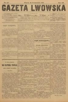 Gazeta Lwowska. 1913, nr247