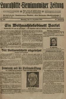 Laurahütte-Siemianowitzer Zeitung : enzige älteste und gelesenste Zeitung von Laurahütte-Siemianowitz mit wöchentlicher Unterhaitungsbeilage. 1929, nr202