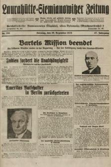 Laurahütte-Siemianowitzer Zeitung : enzige älteste und gelesenste Zeitung von Laurahütte-Siemianowitz mit wöchentlicher Unterhaitungsbeilage. 1929, nr204