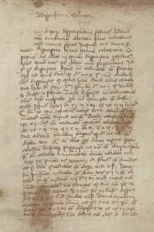 Quaestiones theologicae, orationes et sermones in Universitate Cracoviensi habiti