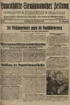 Laurahütte-Siemianowitzer Zeitung : enzige älteste und gelesenste Zeitung von Laurahütte-Siemianowitz mit wöchentlicher Unterhaitungsbeilage. 1930, nr65