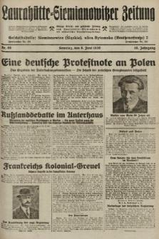 Laurahütte-Siemianowitzer Zeitung : enzige älteste und gelesenste Zeitung von Laurahütte-Siemianowitz mit wöchentlicher Unterhaitungsbeilage. 1930, nr89