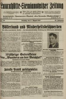 Laurahütte-Siemianowitzer Zeitung : enzige älteste und gelesenste Zeitung von Laurahütte-Siemianowitz mit wöchentlicher Unterhaitungsbeilage. 1930, nr128