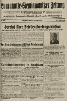 Laurahütte-Siemianowitzer Zeitung : enzige älteste und gelesenste Zeitung von Laurahütte-Siemianowitz mit wöchentlicher Unterhaitungsbeilage. 1930, nr160