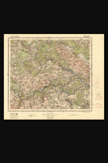 Mapa taktyczna Polski : pas 29, słup 42 : Michaliszki