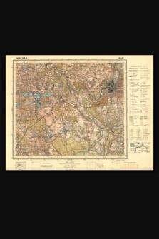 Mapa taktyczna Polski : pas 30, słup 40 : Wilno