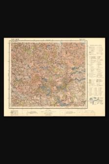 Mapa taktyczna Polski : pas 30, słup 39 : Rudziszki