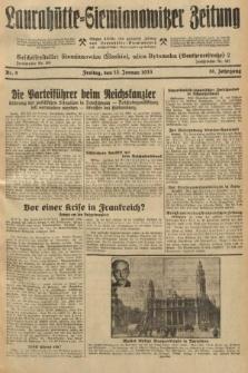 Laurahütte-Siemianowitzer Zeitung : enzige älteste und gelesenste Zeitung von Laurahütte-Siemianowitz mit wöchentlicher Unterhaitungsbeilage. 1933, nr8